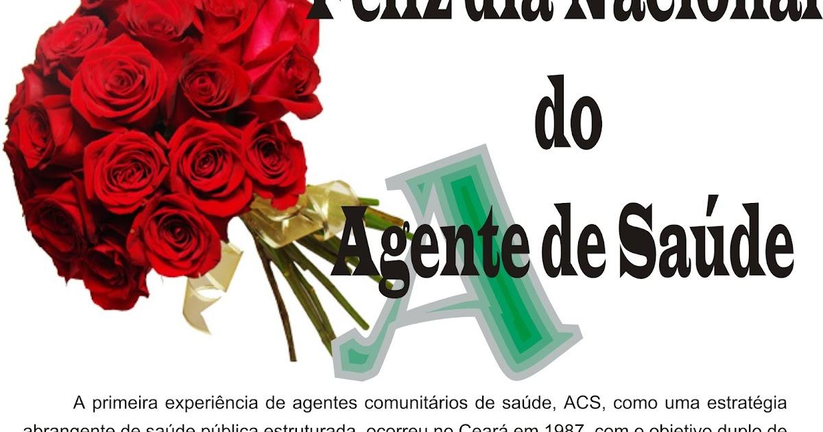 Cosmo Mariz Parabéns Aos Ace E Acs Pelo Dia Nacional Do Agente De Saúde
