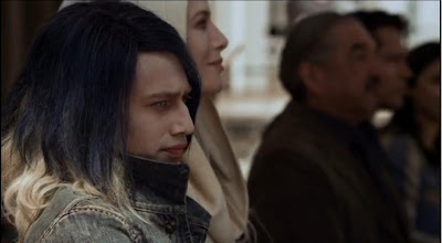 Alak Tarr Defiance pilot Castithan son streaked goth hair Jesse Rath screencaps images photos