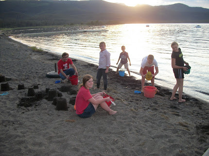 Sunsets and Sandcastles at Lake Hebgen