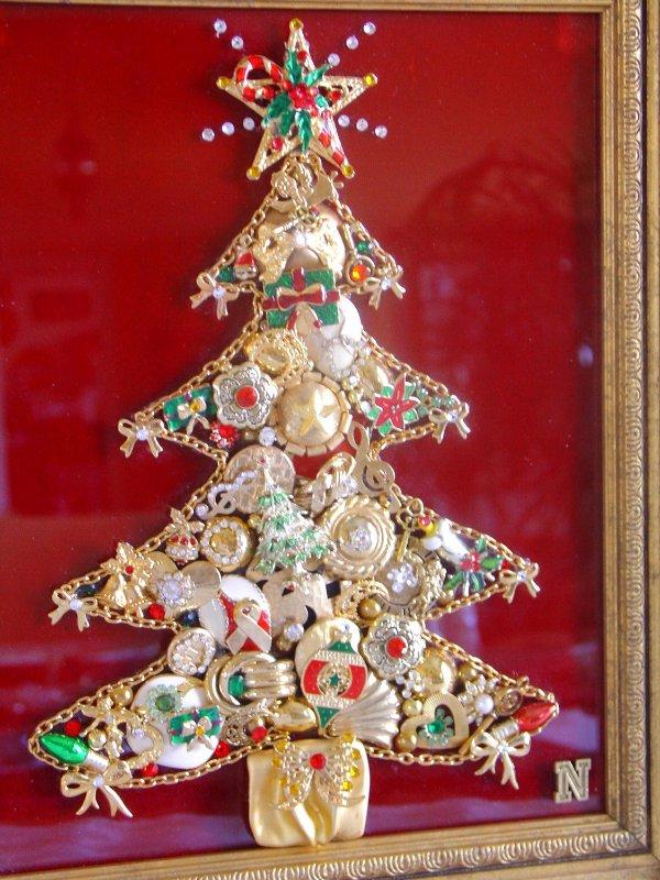 Tejidos y manualidades de la web ideas para decorar en - Manualidades para decorar en navidad ...