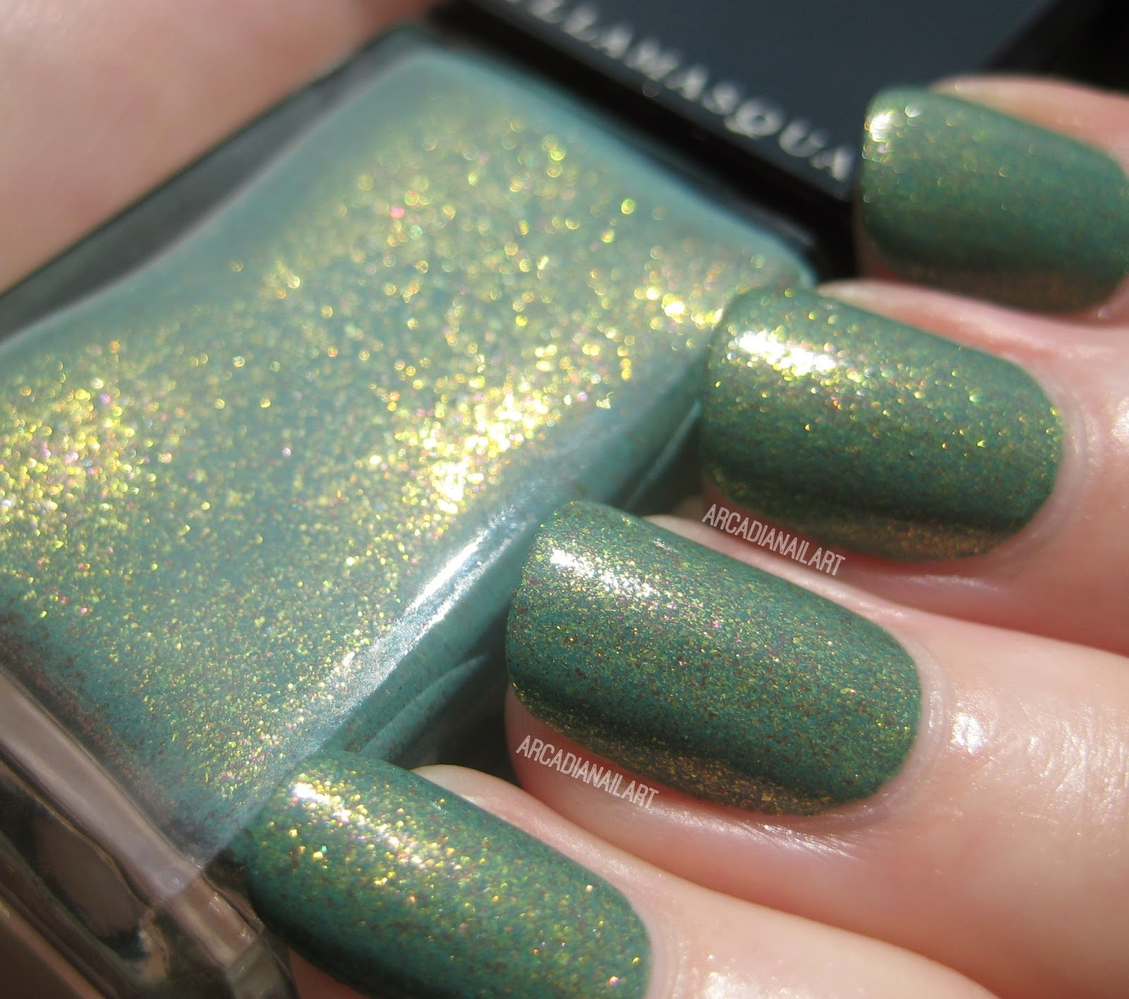ArcadiaNailArt: Illamasqua Melange - Swatch and Review