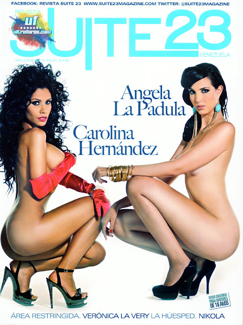 Revista Suite23 – Angela La Padula y Carolina Hernández