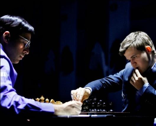 GM Viswanathan Anand - GM Magnus Carlsen