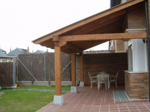 Camila uribe for Tejados de madera casas