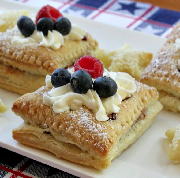 Red, White and Blue Desserts for the Fourth of July!