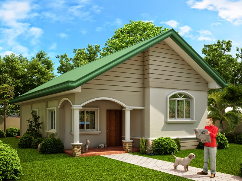 15 beautiful small house designs for Small house design native