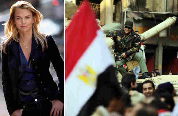 lara logan attacked in egypt. US reporter Lara Logan