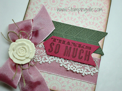 Stampin' Up! Oh, Hello stamp set with Artisan Embellishments