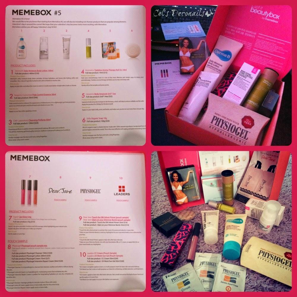 Memebox #5 Korean beauty box
