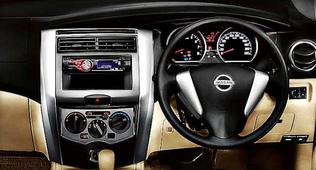 All New Nissan Grand Livina interior