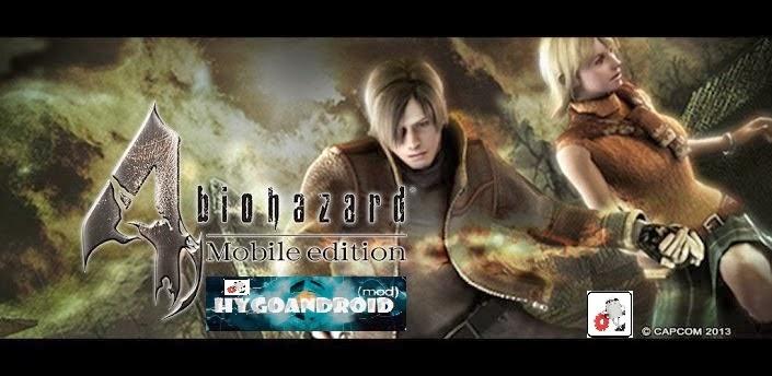 Resident Evil 4 v1.00.04 APK FULL [ENGLISH]
