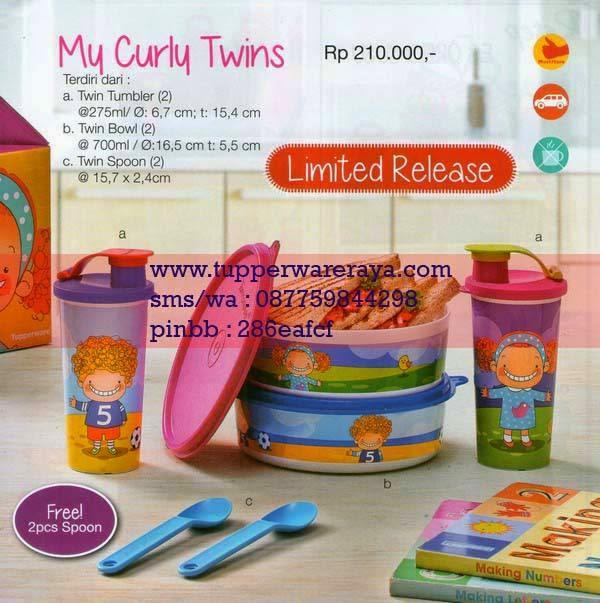 Katalog Tupperware Promo Januari 2015 My Curly Twins