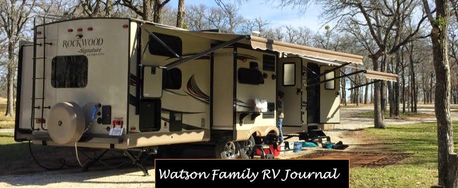 Watson Family's RV Journal