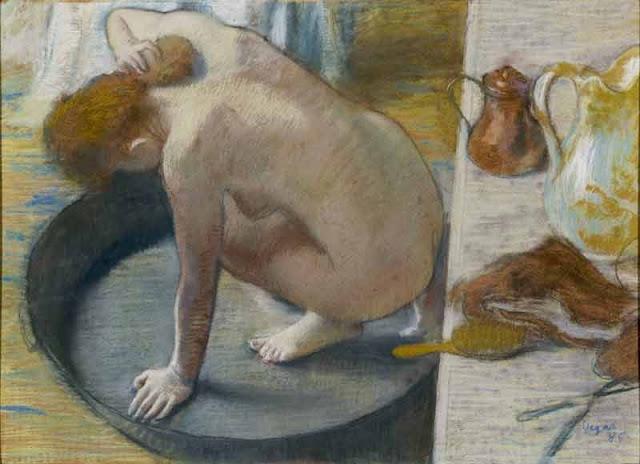 Degas, Le Tub, © RMN (Musée d'Orsay)