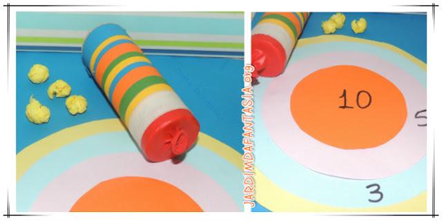 Brinquedo de Material Reciclável Fácil de Fazer e Sugestão de Jogo Tiro ao Alvo