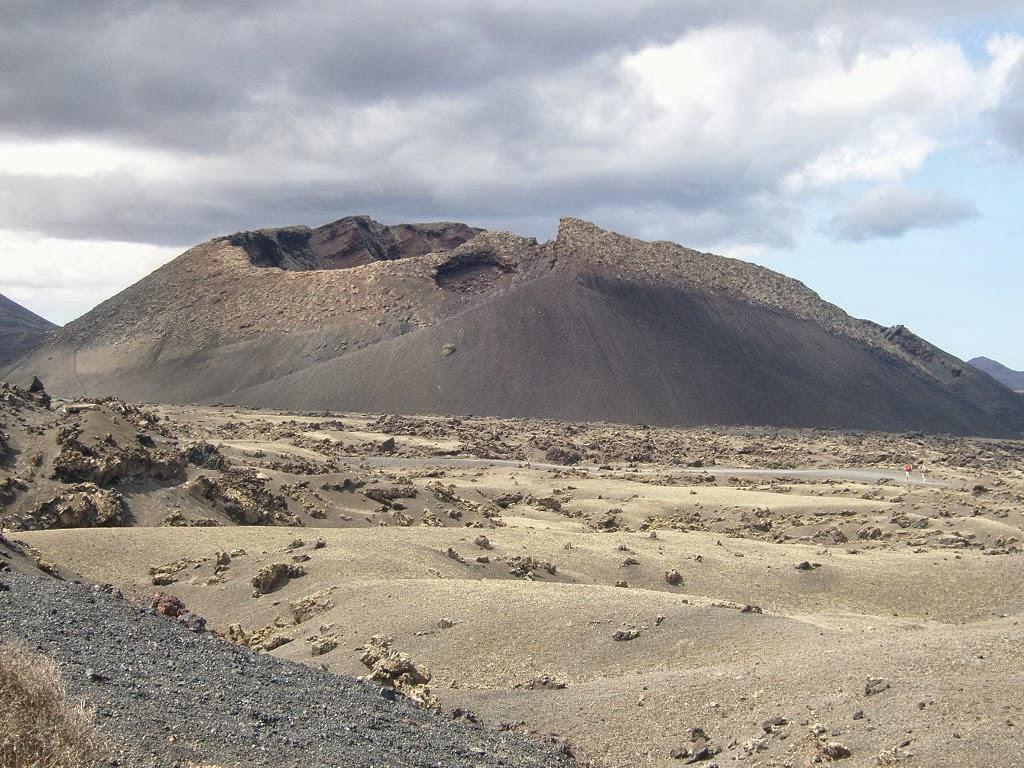 Volcán del Cuervo - Lanzarote
