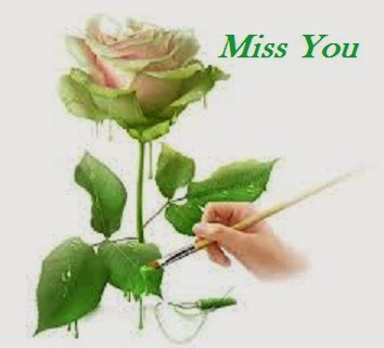 i miss you flowers