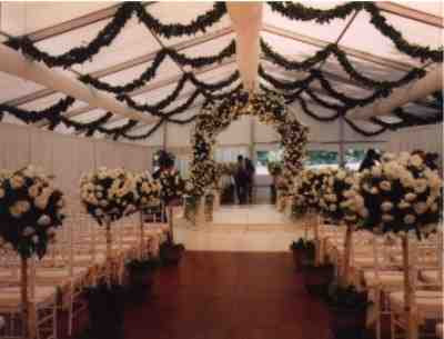 tents wedding decorations Wedding tent decoration pictures