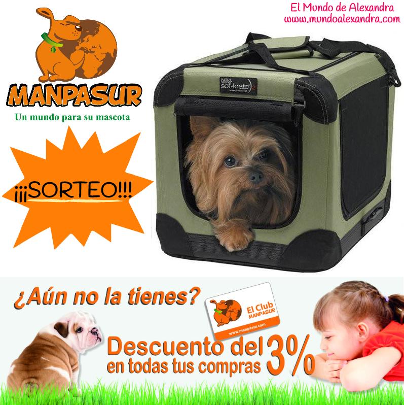 SORTEO MANPASUR MASCOTAS