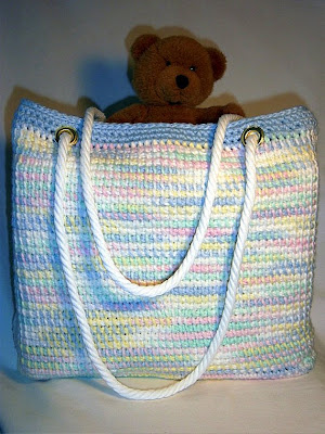 Tunisian Crochet Patterns Bags : ... made with this tunisian crochet afghan stitch this is what i found