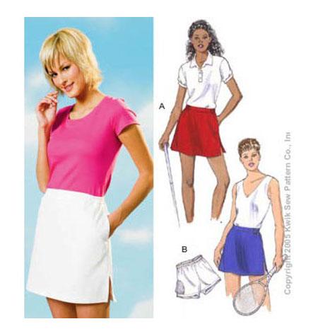 Get My Stitch On Ks 3341 Golf Skirtskort From Good Idea To Hot