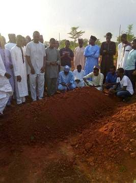 ahmed zanna burial photo