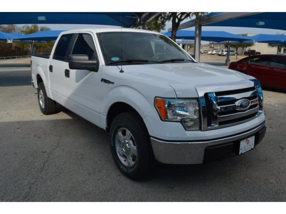 TDY Sales $16,991 White 2009 FORD F-150 XLT CREW CAB RWD V8 Truck ...