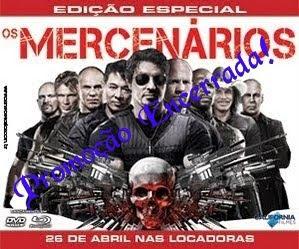 """PROMOÇÃO """"DVD:Edição Especial Os Mercenários"""""""