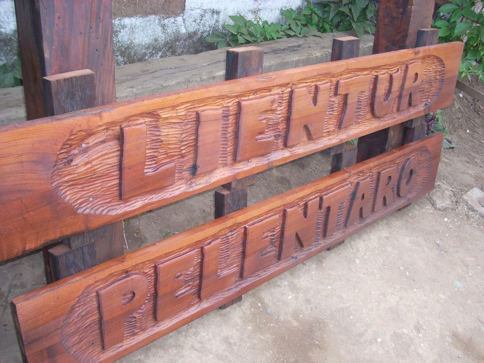 Letreros de madera galeria fotos 2 - Letreros en madera ...