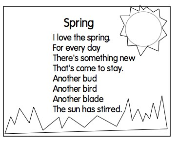 Spring Poems For Kids Poems About Love For Kids About Life About Death ...