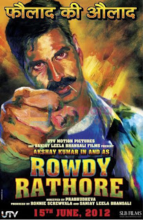 Rowdy Rathore Movie 15 june Akshay Kumar and Sonakshi Sinha