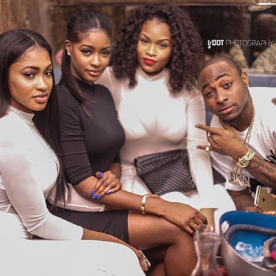 Davido And Girlfriend Sira Still Together? (Picture)