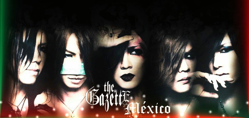 the GazettE México Street Team
