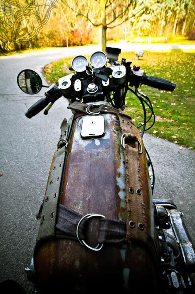 ratty gold wing gas tank | mondo lulu photo