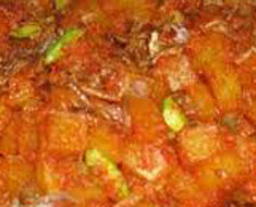 Resep masakan indonesia sambal goreng krecek spesial (istimewa) praktis mudah sedap, nikmat, enak, gurih lezat