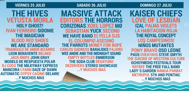 Low Festival, 2014, Cartel Completo