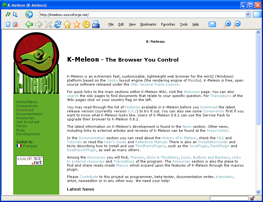 Download K-Meleon Browser Latest Version | Computer ... K Meleon Browser Logo