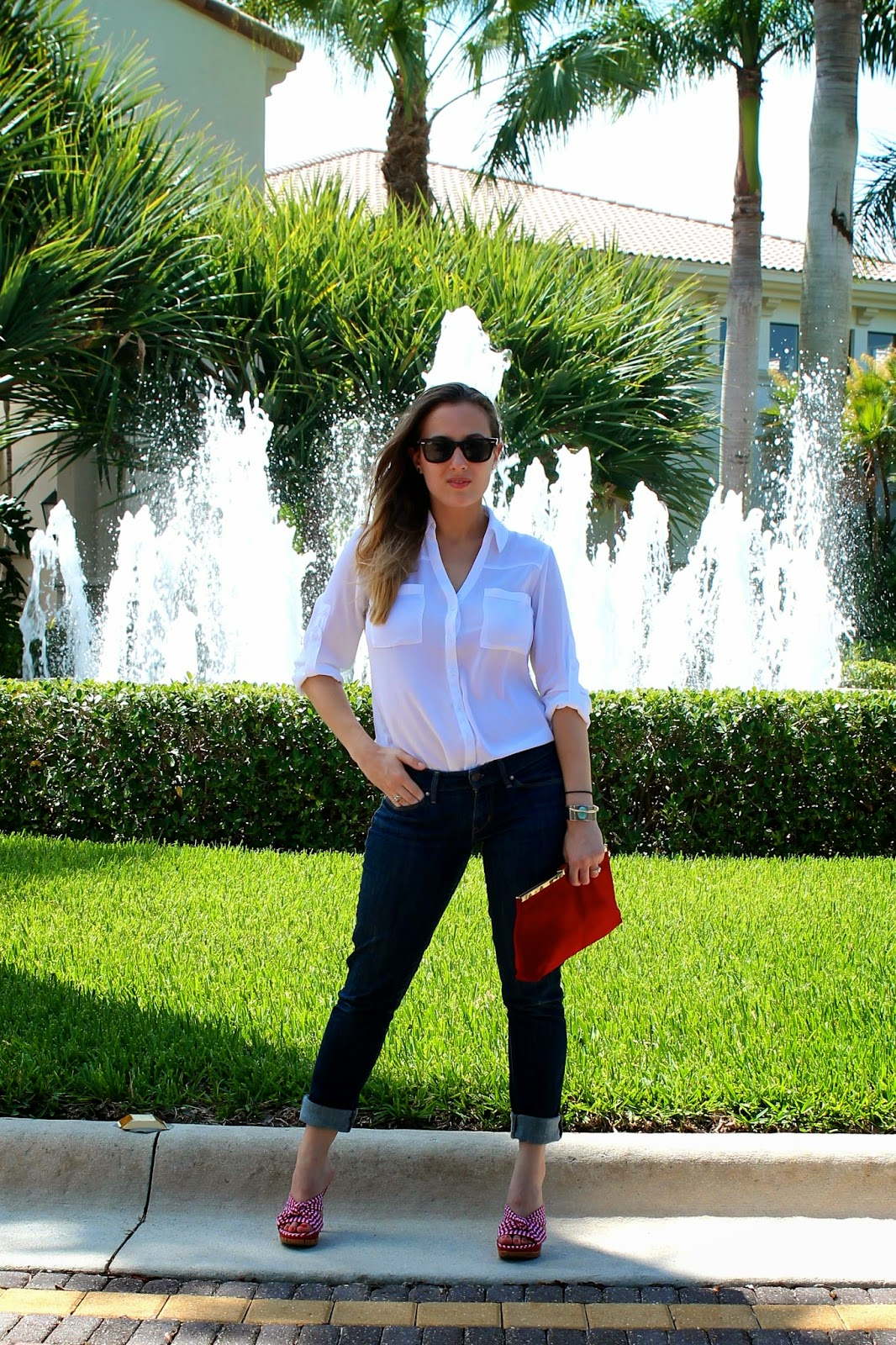 Express, Levi's, Ray-Ban, vintage, Kate Spade, Guess, classic, patriotic, prep, Palm Beach, Miami, style, fashion, what I wore, lookbook, ootd