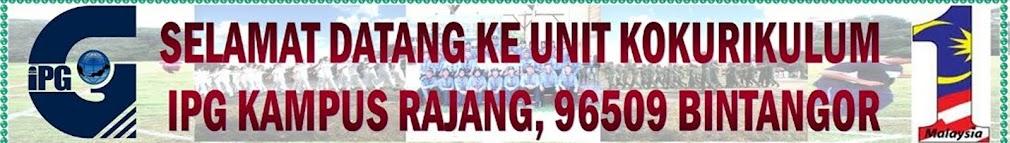 Selamat Datang Ke Unit Kokurikulum IPG Kampus Rajang, 96500 Bintangor