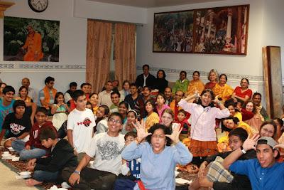 Thanksgiving retreat with Siddheshvari Devi at Radha Madhav Dham 5