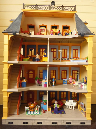 maison traditionnelle playmobil. Black Bedroom Furniture Sets. Home Design Ideas