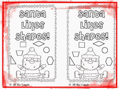 http://www.teacherspayteachers.com/Product/Santa-Likes-Shapes-452487