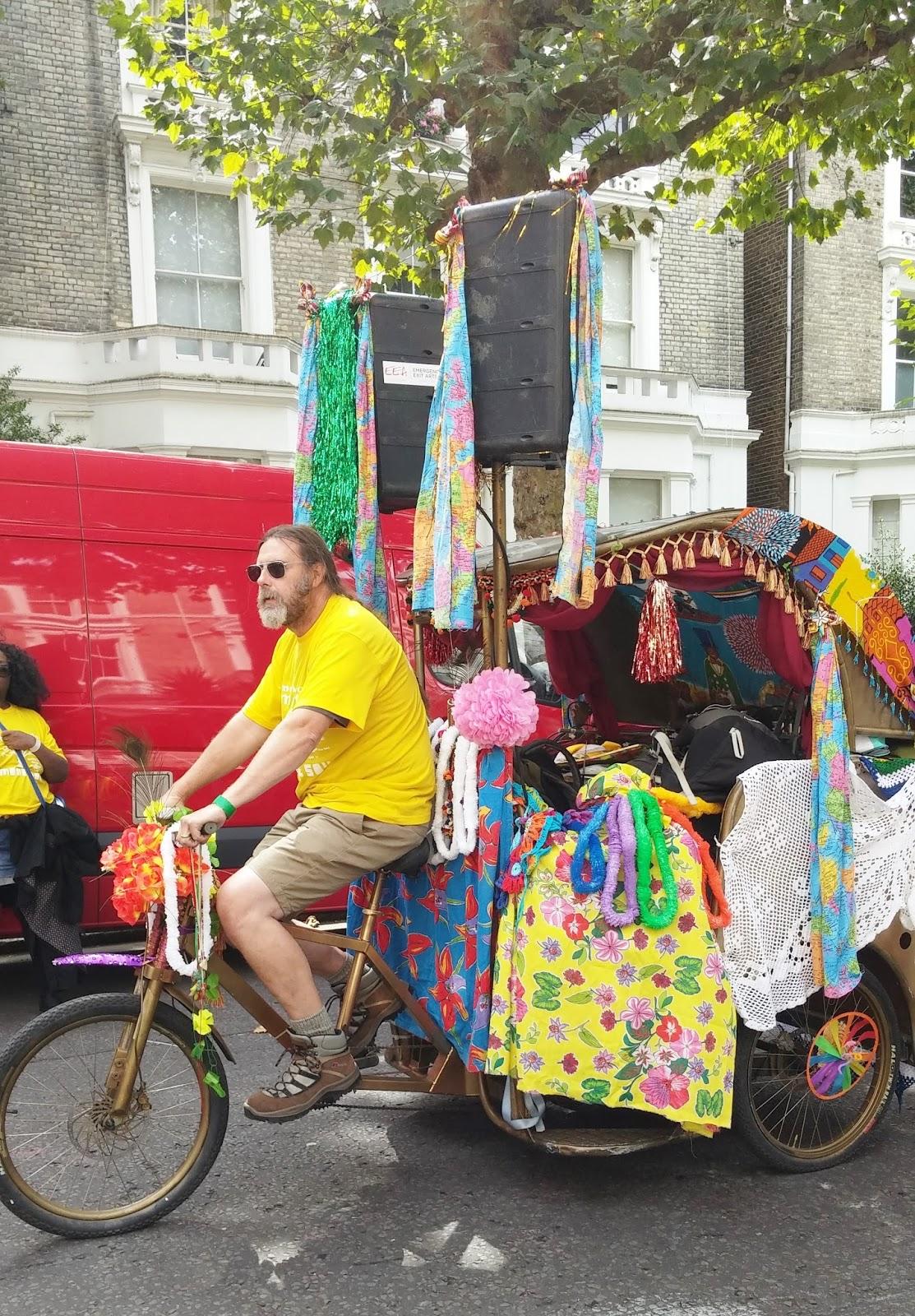 Notting Hill CArnival tuk tuk