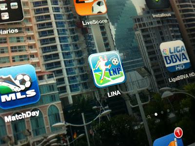 Aplicación de Liga Nacional de Honduras para iPhone