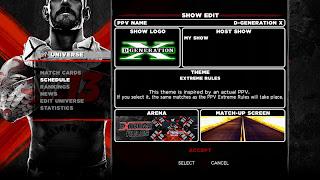 wwe 13 screen 7 Universe Mode Is Back In WWE 13   Details, Video, & Screenshots