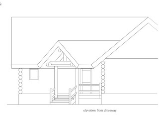 CAD elevation of covered porch project http://www.huismanconcepts.com/