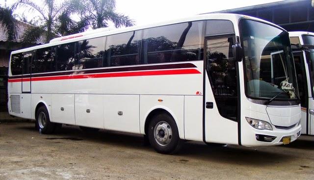 Bus Executive Diana Trans Wisata 32 seat Toilet