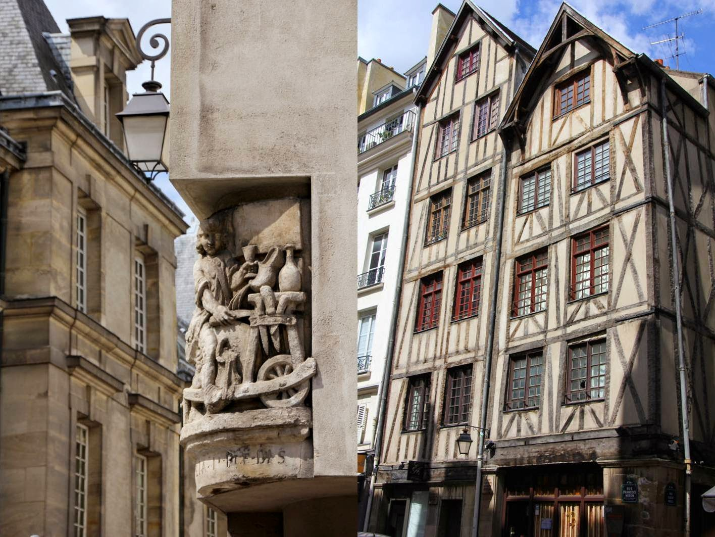 Paris : balade dans le Marais