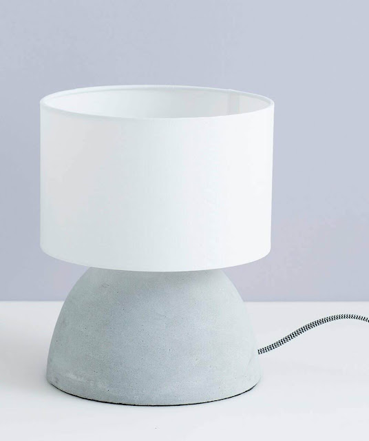 Milk & Sugar Oscar Concrete Table Lamp