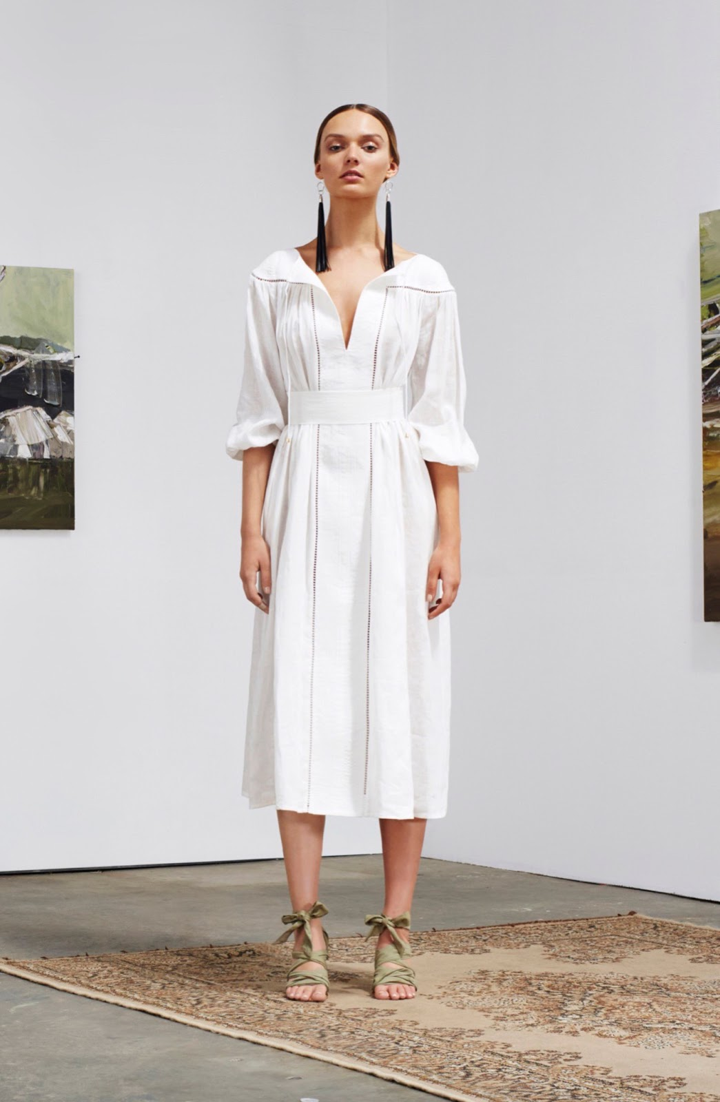 Such a perfect dress, it works with virtually anything. Zimmermann Resort 2016 best looks via fashioned by love / british fashion blog